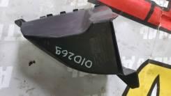 Дефлектор переднего бампера левый Рено Логан 2010