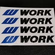Наклейки на диски WORK ! В наличии нет!