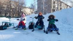 МИНИ-снегоход !, 2020