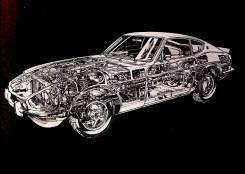 NEW Руководство по ремонту Nissan FairLady 240Z, 260Z и 280Z 1970-1978