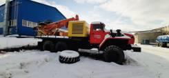 Урал 4320. ПБУ-2 Урал-4320 буровая установка бурагрегат Урб 2а2