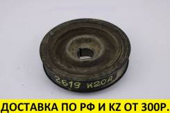 Шкив коленвала. Honda: Civic, CR-V, Accord, Element, Stepwgn, Stream K20A, K24A, K24A1, K20A4, K20Z2, K24A8, K24A3, K24A4, K20B, K20A1