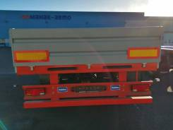 Manac-Auto. 8794TA (открытый бортовой 3 оси), 33 500кг.