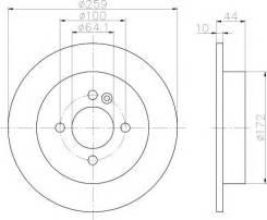 Диск Тормозной Задн. Rover Mini One/Cooper 1.6/1.4d 01 PATRON арт. PBD4198