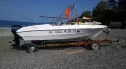 Продаю лодку 5,5 метров с подвесным двигателем Меркури 60 ,2 т
