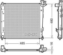 Радиатор охлаждения ДВС Denso ( DRM41008)