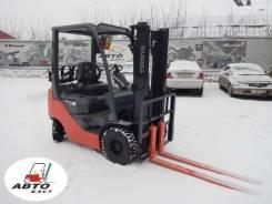 Toyota 8FG15. Вилочный прогрузчик Toyota 02-8FG15 из Японии без пробега в РФ, 1 500кг., Бензиновый