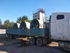 Бортовой полуприцеп, площадки 25, 35 тонн