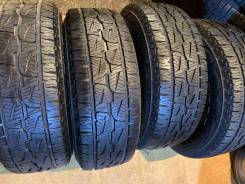 Bridgestone Dueler A/T 001. грязь at, 2018 год, б/у, износ до 5%