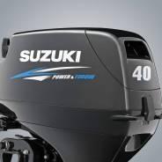 Suzuki. 40,00л.с., 2-тактный, бензиновый, нога S (381 мм), 2019 год