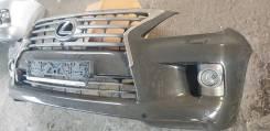 Передний бампер всборе на LX570 2012-2015 рестайл