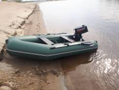 Продам лодку Таймыр 270К + мотор Меркури 5 Л. с.