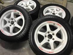 "Bim DHS c034 R16 5*114.3 7j et42 Japan + 215/55R16 Bridgestone Revo2. 7.0x16"" 5x114.30 ET42. Под заказ"