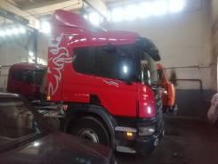 Scania P420CA. Продаеться седальный тягач c полуприцепом, 12 000куб. см., 33 500кг., 6x4