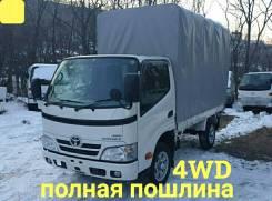Toyota ToyoAce. 4WD, борт 1,5 тонны + тент, 3 000куб. см., 1 500кг., 4x4