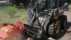 Фреза дорожная на мини погрузчик XGMA