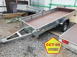 Прицеп для снегохода, квадроцикла, грузов ССТ-09 Супер 3.5х1.5