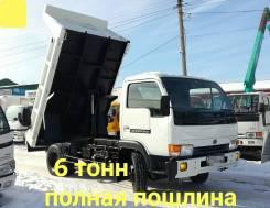 Nissan Diesel. 4,6л., самосвал 6 тонн, 4 600куб. см., 6 000кг., 4x2