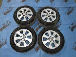 """Оригиналы Toyota R15 5*114.3 + лето Goodyear EfficientGrip 195/65/15. 6.5x15"""" 5x114.30 ET50 ЦО 60,1мм."""