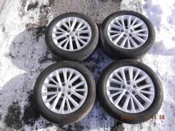 """Комплект оригинальных колес 2018 года для Toyota Camry. 7.0x17"""" 5x114.30 ET45"""