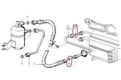 Кольцо трубки кондиционера. BMW: X1, Z3, 8-Series, 7-Series, 5-Series, 3-Series, 6-Series, Z8, X3, X5 N20B20, N47D20, M47D20, M47TU2D20, M51D25, M51D2...