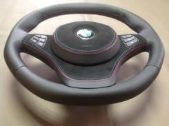 Руль BMW X3 E83 X5 E53 кожа натур. новый В Сборе