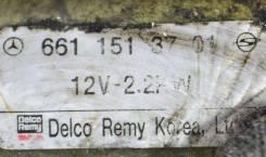 Стартер OM661 OM662 D20DT D27DT D27DTP SsangYong Actyon, Kyron, Musso, Korando, Istana, Rexton [6611513701]