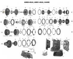 АКПП AW80-40LE Chevrolet Lacetti F16D3, F14D3 В Разбор, По Запчастям.