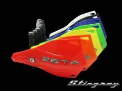 Защита рук (пластик) с крепежом ZETA Stingray MX оранжевый ZE74-2109