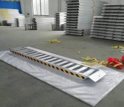 Сходни алюминиевые для спецтехники 3,0м х 0,5м. х 2500кг
