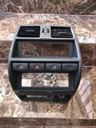Консоль Nissan Mistral R20 1994 Чёрный Климат-Контроль И Магнитола