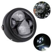 Фара SBW LED для мотоцикла, универсальная, черная