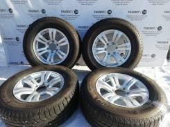 "Красивые диски Weds на отличной зиме 265/65R17 Michelin. БП по РФ. 7.5x17"" 6x139.70 ET28 ЦО 108,0мм."