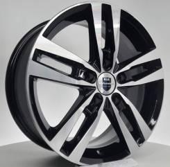Диск колесный Диск литой 6.5х16 5x114.3 ЕТ38 dia 67.1 K&K Rassvet алмаз черный