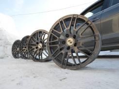 Лёгкие кованые M&K Forged Wheels MK-XII в тёмно-сером металлике