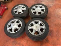 """Комплект отличных штатных R16 колес на JZX90 Mark2 1996. 6.5x16"""" 5x114.30 ET50"""