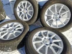 """Красивые литые диски Smart на зимней резине 215/60R16 Bridgestone. 6.5x16"""" 5x114.30 ET42"""