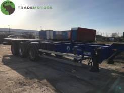 Grunwald. Продается Полуприцеп-контейнеровоз , 32 350кг.
