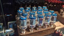 Комплект болтов M12*1,25 (синие)