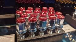 Комплект болтов M12*1,25 (красные)