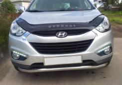 Дефлектор капота. Hyundai ix35, LM D4HA, G4KD, G4NA