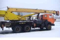КамАЗ 55111. Автокран Галичанин на шасси Камаз-55111, г/п 25 т, 2005 г. в., 22,00м.