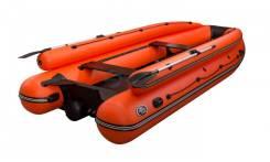 Лодка ПВХ Allaska-470 tonna lux Оранжевая