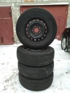 """Комплект зимней резины Dunlop 205/65/r15. x15"""" 5x100.00, 5x114.30"""