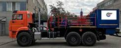 Агрегат цементировочный с поршневым насосом на шасси КамАЗ 43118