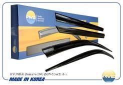 Ветровики дефлекторы окон Hyundai Santa Fe Prime 2016-наст. время