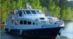Продается круизный теплоход VIP-класса «Байкальская ВИЗА»