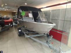 Моторная лодка алюминиевая Realcraft Impulse-440