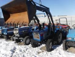 Iseki. Трактор 21л. с., 4wd, ВОМ, навеска на 3 точки, фреза, лопата, 21 л.с.
