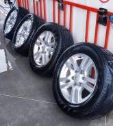"""Комплект колёс Toyota Land Cruiser Prado. 7.5x18"""" 6x139.70 ET25"""